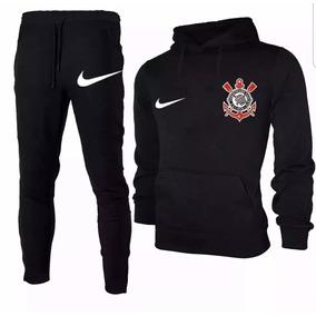 Conjunto Moletom Blusa +calça Top Futebol 50%off 58025e18312