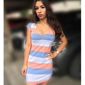 Vestido Lacoste - Vestidos Casuais Femininas no Mercado Livre Brasil 9f334af9d7
