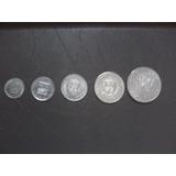 Monedas De Níquel Colección Venezuela (20 Unds.)