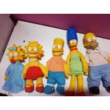 Los Simpson Muñecos Originales 1990 Estado De Coleccion