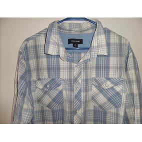 Camisa Sport Adam Lavine Slim 100% Algodón Talla Xl