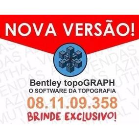 Bentley Topograph 08.11.09.358 Completo + Curso Em Vídeos