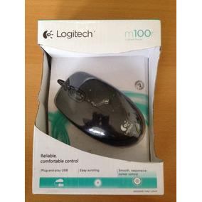 Mouse Logitech M100r 1200 Dpi Usb Kingpc(somos Tienda)