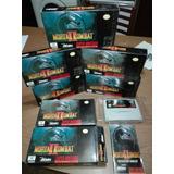 Mortal Kombat 2 Super Nintendo Precio X Unidad.