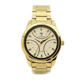 83113855db3 Relógio Tuguir Analógico 5024 Dourado - Relógios no Mercado Livre Brasil