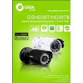 Camera Giga Hd Infravermelho Gshd30t Sensor Sony Exmor Preta