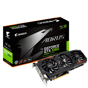Tarjeta De Video Sg Gigabyte Geforce Gtx1060 Aorus 6gddr5 1d