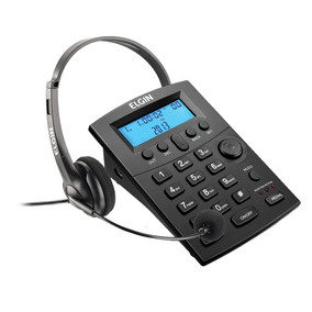 Telefone Headset Com Identificador De Chamadas Hst-8000