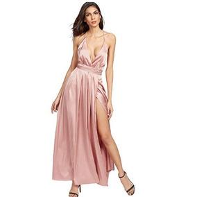 Vestido Posada Navideña Elegante Coctel Fiesta Largo Rosam06