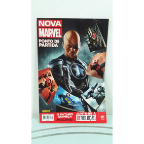 Nova Marvel Ponto De Partida 001