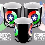 Caneca Polícia Militar Santa Catarina Pmsc Mod 01