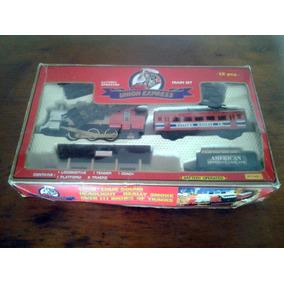 Brinquedo Antigo Trem Union Express Leia O Anuncio