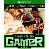 L.a. Noire - Xbox One - N Codigo Off-line.