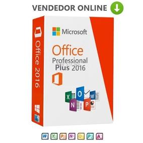 Office 2016 Pro Plus + Licença Vitalícia Original 25 Dígitos