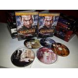 Dvd Box Spartacus 1° Temporada Sangue E Areia 5 Discos