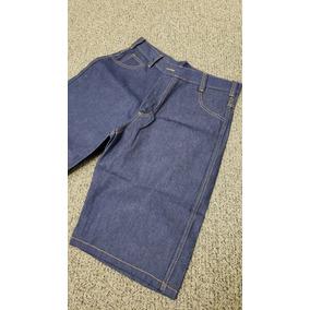 Bermuda Uniforme Profissional Jeans