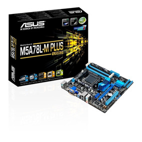 Placa-mãe Asus Amd Am3 M5a78l-m Plus Usb3