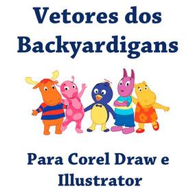 Vetores Dos Backyardigans Para Corel Draw