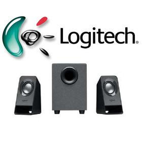 Caixa De Som Logitech Z211 Para Pc - Original C/ Nota Fiscal