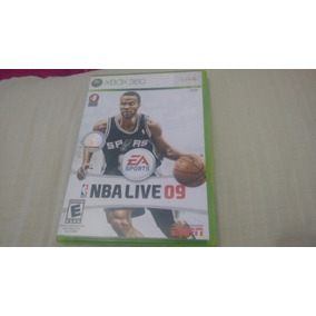 Nba Live 09 - Xbox360 - Completo E Original