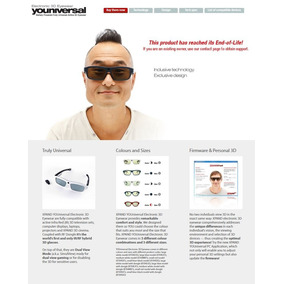 Kit 4 Óculos 3d Ativo Universal Xpand Youniversal X104