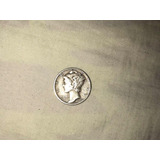 Moneda Dime De Plata 1944