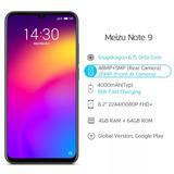 Meizu Note 9 - Version Global 4g Todos Los Operadores