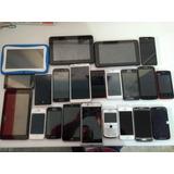 Lote De 18 Telefonos Y 4 Tabletas Funcionales Varios Aun