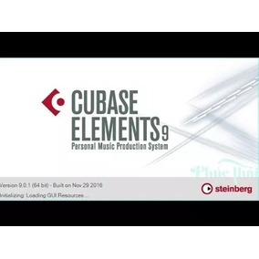 Cubase Elements9 Full Tracks Inlimitadas (envio Imediato)