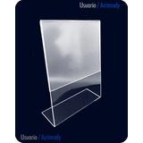 Porta Retrato En Acrílico De 3mm Tamaño Carta