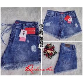 Shorts Jeans Revanche / Sem Lycra / Tam 40/ Lançamento