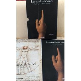 Leonardo Da Vinci Obra Completa De Pintura E Desenho