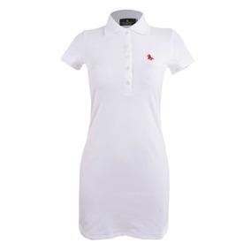 4482b972c75 Vestido Polo Blanco en Mercado Libre México
