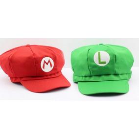 Boina Super Mario Luigi - Brinquedos e Hobbies no Mercado Livre Brasil c2a1e6e554d