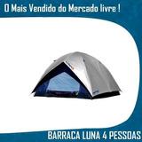 Barraca Camping Iglu Luna 4 Pessoas 2,1 X 2,1x 1,3 Sobreteto