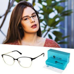 Armação Óculos Grau Feminino Isabela Dia Metal Original 6441