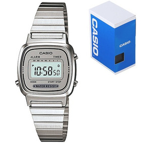 7e23fa0696ae Reloj Casio Mujer Vintage Plata - Reloj de Pulsera en Mercado Libre ...