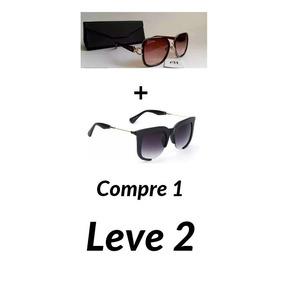 Kit 2 Oculos De Sol Original Ana Hickman E Miu Miu Lindos fa221e01db