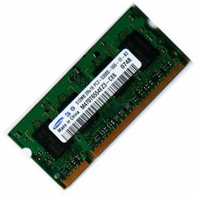 Memória Samsung Ddr2 512mb 667mhz Para Notebook Com Garantia