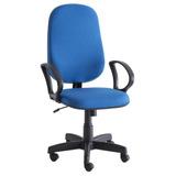 Cadeira Para Escritório Unimóvel Presidente - Preto/azul