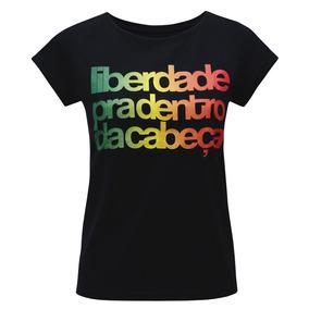 Camiseta Liberdade Preto