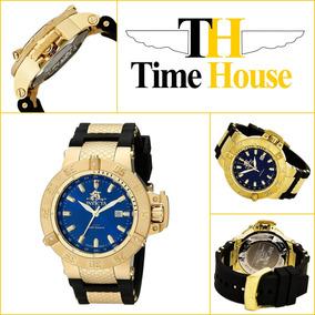 75f6d2c9230 Relogio Invicta Fundo Azul Novo - Relógios no Mercado Livre Brasil