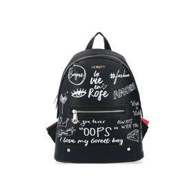Bolso Tipo Backpack Gorétt Premium Mod. Gf18180 Otoño 2018.