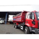 Ford Cargo 2629 6x4 Na Caçamba Com Entrada E Serviço