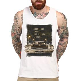 ee5463342fd63 Camiseta Regata Old Car Carro Antigo Mustang Cavada Academia