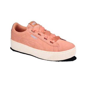 Tenis Para Dama Puma Color Coral Modelo 41807