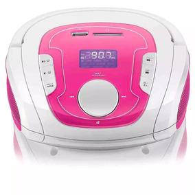 Rádio Portátil Boombox Multilaser 15w Bluetooth Usb Fm