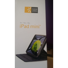Capa Ipad Mini Case Logic Lfol308 Preta Verde Com Nfe