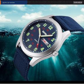 Reloj Hombre Tipo Militar Navy Seal Sport Quarzo Skmei