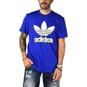 Playera adidas Originals Marino Hombre Bq3123 Look Trendy 59b9f389eaf75
